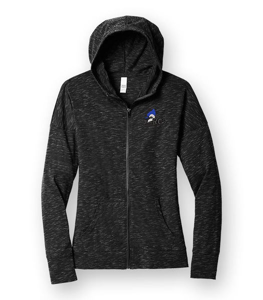 Picture of DT665 - Ladies Medal Full Zip Hoodie
