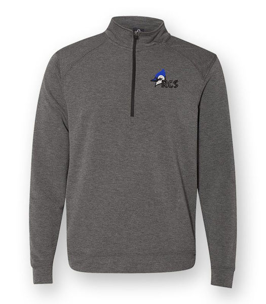 Picture of JA8434  - J. American Terry 1/4 Zip Pullover