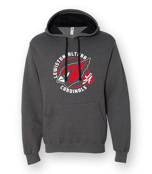 Picture of SF76R - SofSpun Hooded Pullover Sweatshirt