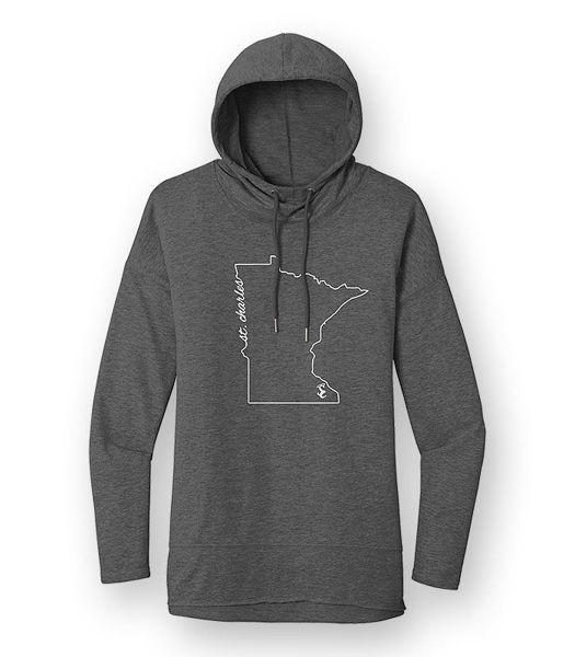 Picture of DT671 - Ladies Featherweight French Terry Hoody